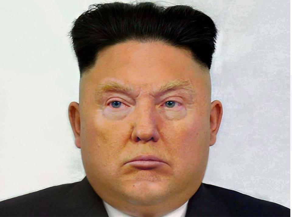 alt Donald Kim Jong Trump Un